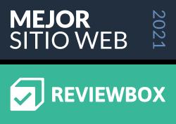 Mejor Sitio Web 2021 • Reviewbox